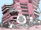 """Charge do Real-World Economics, o """"mainstream"""" econômico desnorteado"""