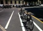 Foto: Estacionamento de bicicletas - Genebra - julho - 2013