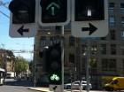 Foto: sinalização de trânsito para bicicletas - Genebra -  julho - 2013