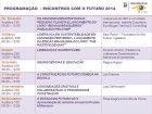 Calendário de eventos do NEF - 2014