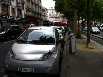 carro eletrico paris