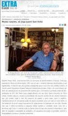 Entrevista Dowbor - Nesse cassino, só joga quem tem ficha - jornal Extra Classe /SINPRO/RS (Sindicato dos Professores do RGS) – jornalista Marcelo Mena Barreto - out. 2017, 4 p.