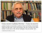 Dowbor - Como escreve Ladislau Dowbor - José Nunes - Como eu escrevo - maio 2018