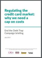 Regulating the Credit Card Market: why we need a cap on costs – New Economics Foundation e outros – Londres, julho 2019, 13p.