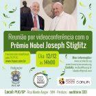 Vídeoconferência com Prêmio Nobel Joseph Stiglitz - 12.12.2019 - 14h - PUC-SP