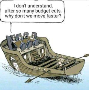 barquinho austeridade