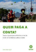 Bilionários da América Latina e do Caribe aumentaram fortuna em US$ 48,2 bi durante pandemia - OXFAM Brasil, 2020 (relatório 23p.)
