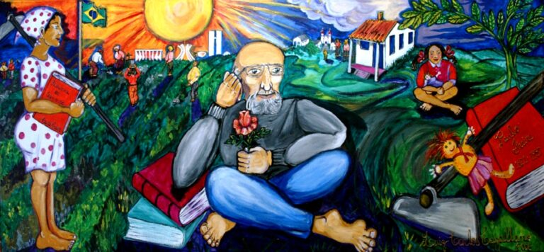 Paulo Freire Illustration